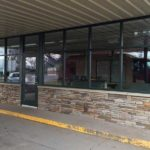 commercial glass windows in ludington
