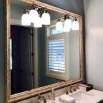 custom framed mirror
